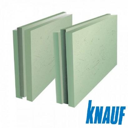 ПГП плиты гипсовые Кнауф 667х500х100мм полнотелая влагостойкая