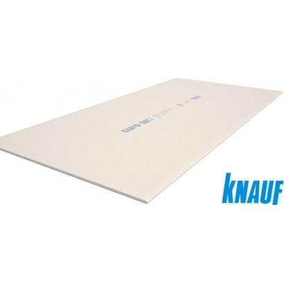 Гипсокартон Кнауф обычный ГКЛ, 2500х1200х9,5мм