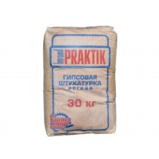 Штукатурка гипсовая BERGAUF PRAKTIK  МН 30 кг