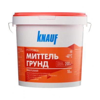 Грунтовка КНАУФ-МИТТЕЛЬГРУНД,10 л