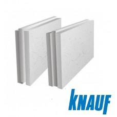 ПГП плиты гипсовые Кнауф 667х500х100мм полнотелая стандарт