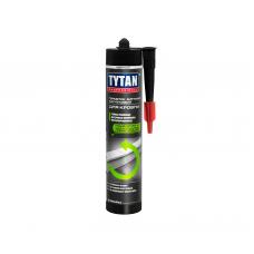 Герметик битумно-каучуковый для кровли черный TYTAN (310 мл)